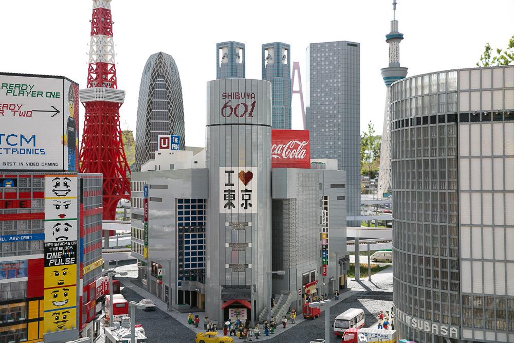 日本樂高樂園 MiniLand 小小日本縮影一網打盡@LegoLand Japan