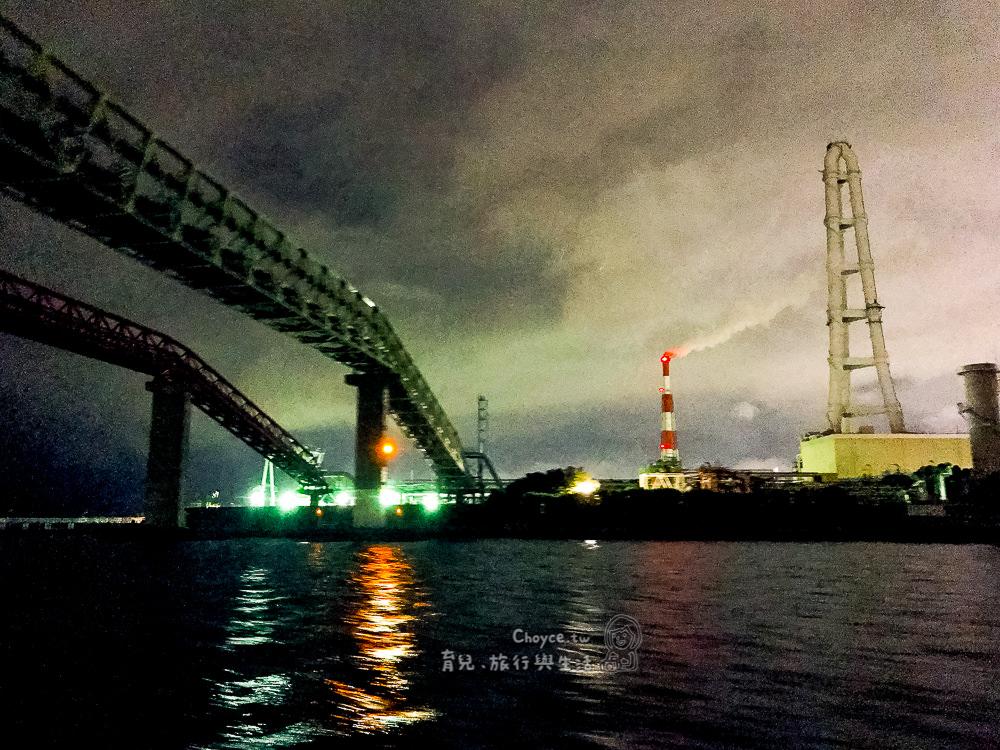 新潮流熱點 工場夜景遊船 四日市港口 night scene cruise