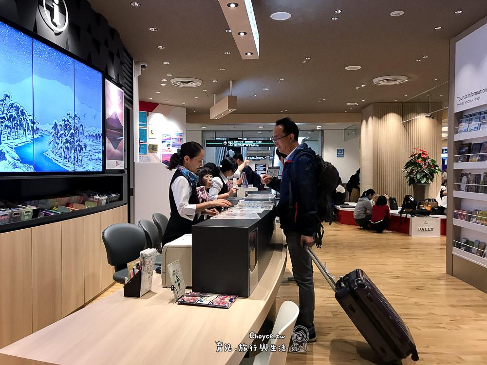 成田機場內 Visitor Service Center (遊客服務中心)免費觀光行程 免費SIm卡網上申請 機器取貨