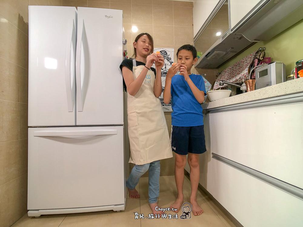 消滅冰箱黑洞 收納高手與料理好助手 Whirlpool惠而浦 554L法式多門典雅白冰箱(WRF560SMYW)
