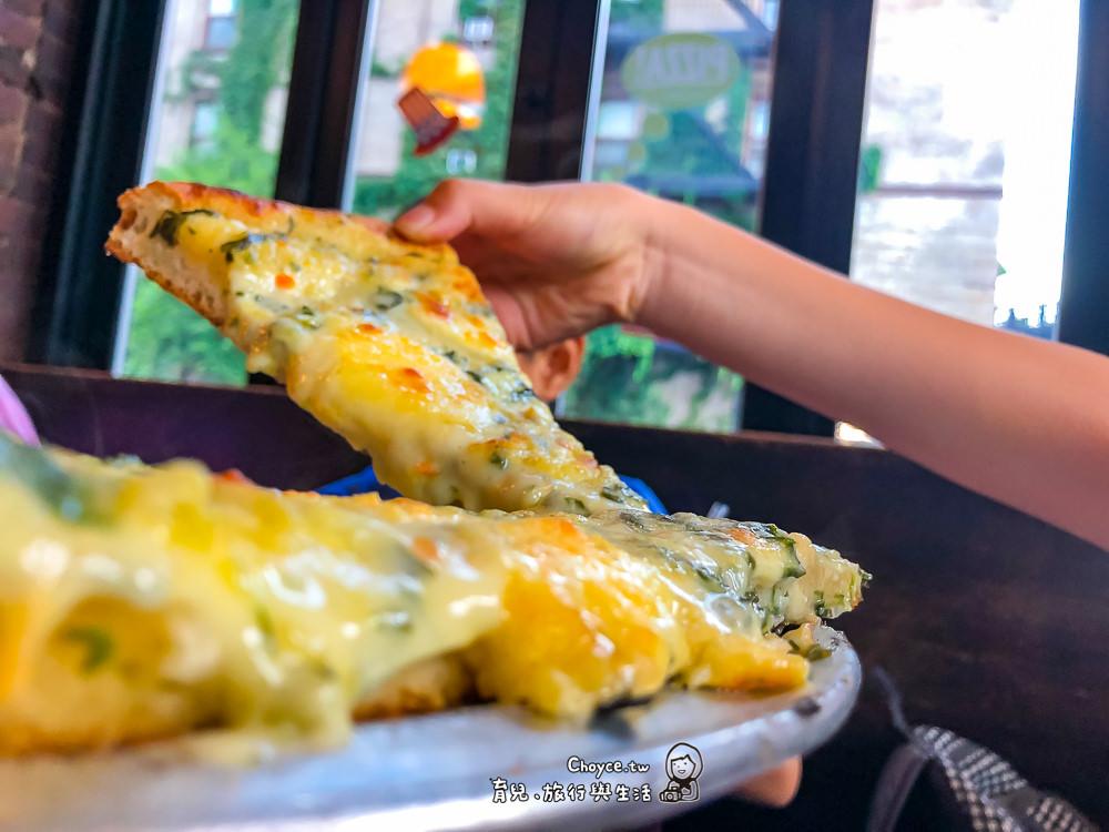 紐約美食 雀兒喜市場旁 Artichoke Pizza 好吃得不得了大推薦