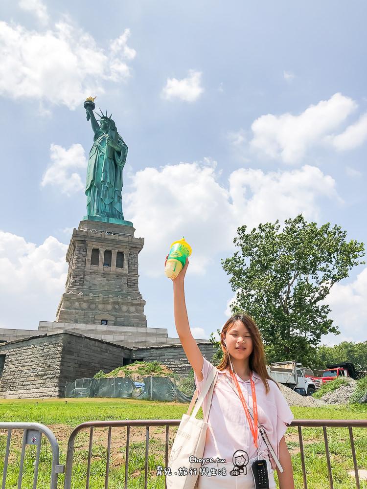 自由象徵 紐約自由女神 Statue of Liberty 交通規劃,預約登塔還有旅遊小秘訣