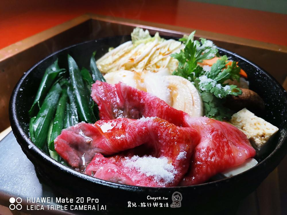 三重伊賀牛大口享受 六十年老店壽喜燒 金谷 上野天神祭 伊賀上野天滿宮 UNESCO 一人也能開鍋