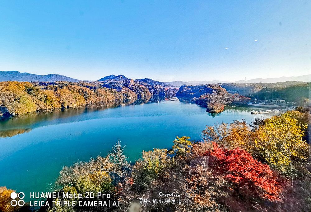 眺望惠那峽 最美麗湖景房 惠那峽格蘭飯店 日本中部小旅行 岐阜縣觀光