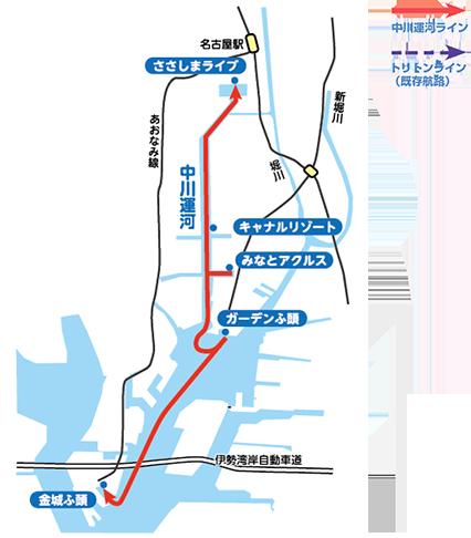 cruise-nagoya map