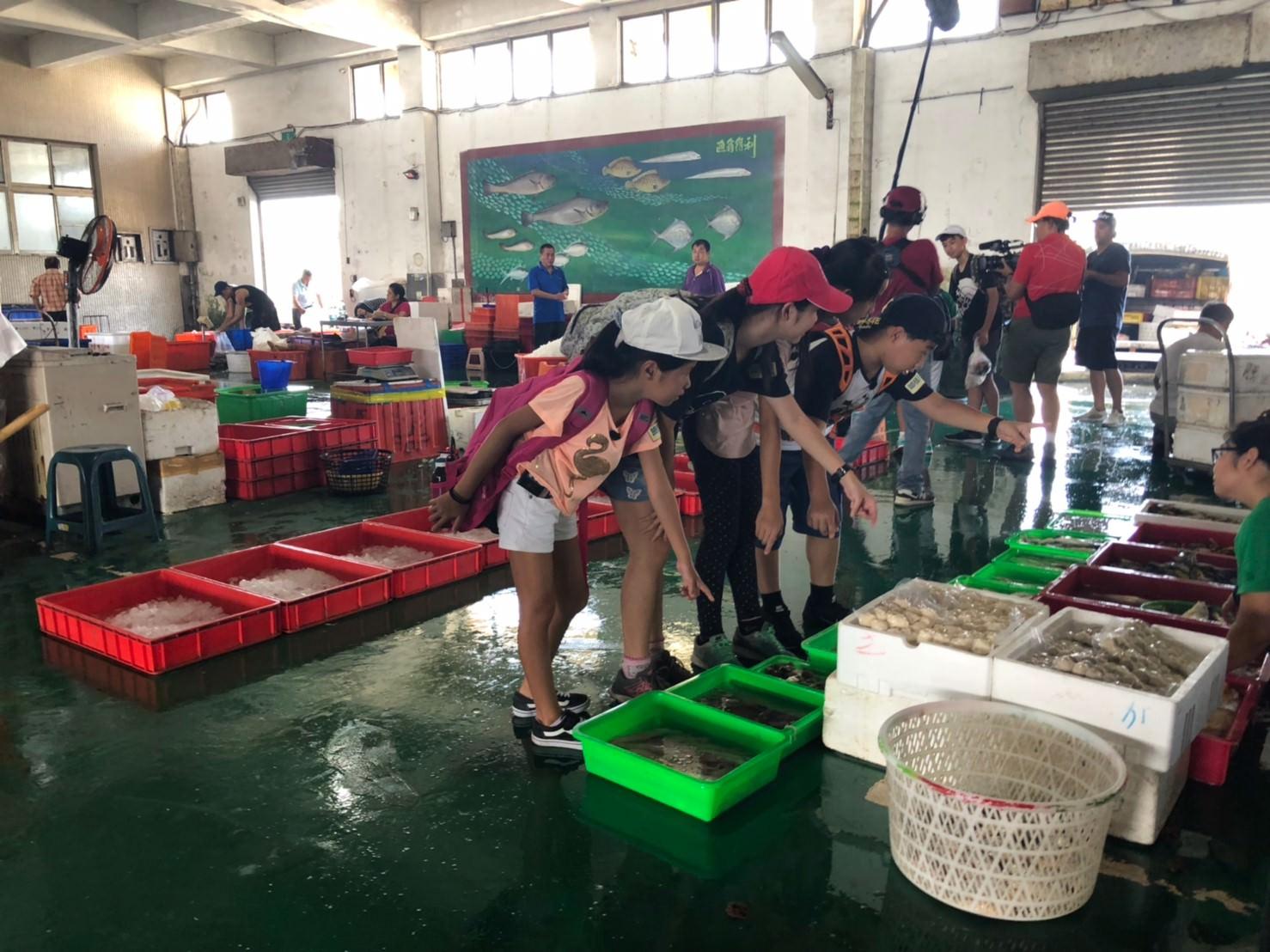 嘉義_上魚市場挑魚貨