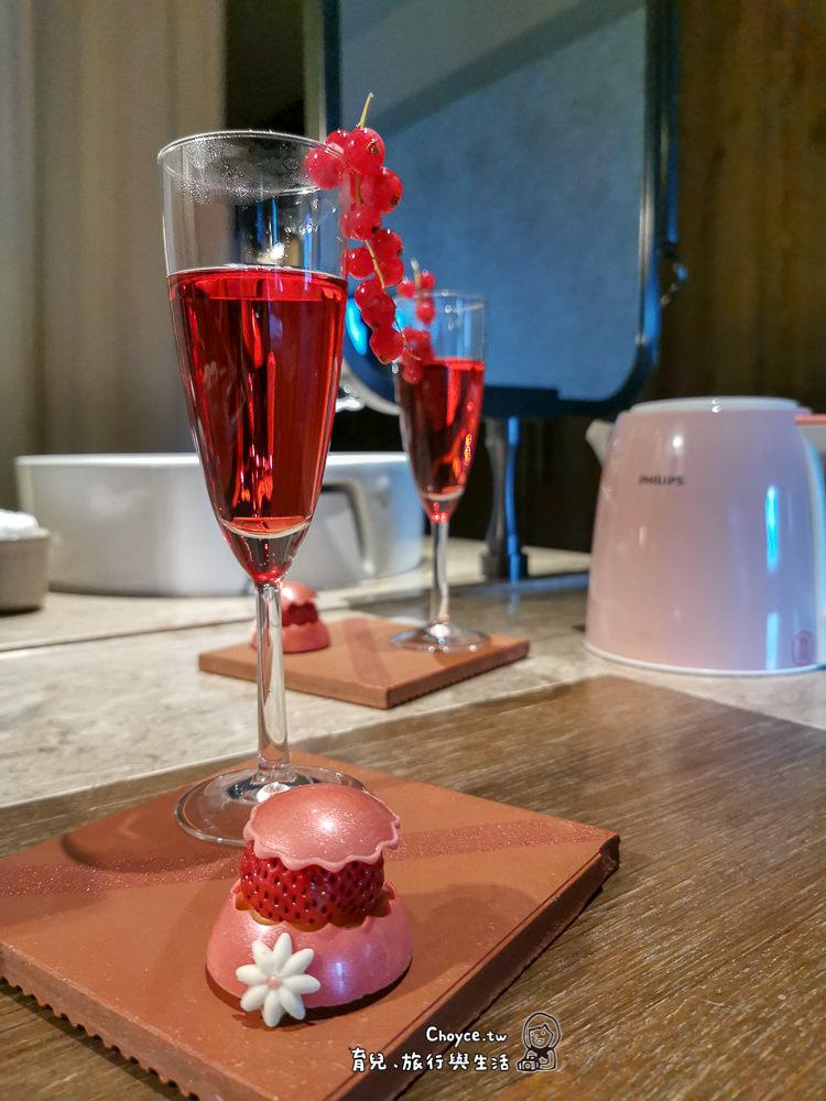 給母女與閨密 寵愛自己假期 君品飯店粉紅佳人套房 現製甜品好窩心