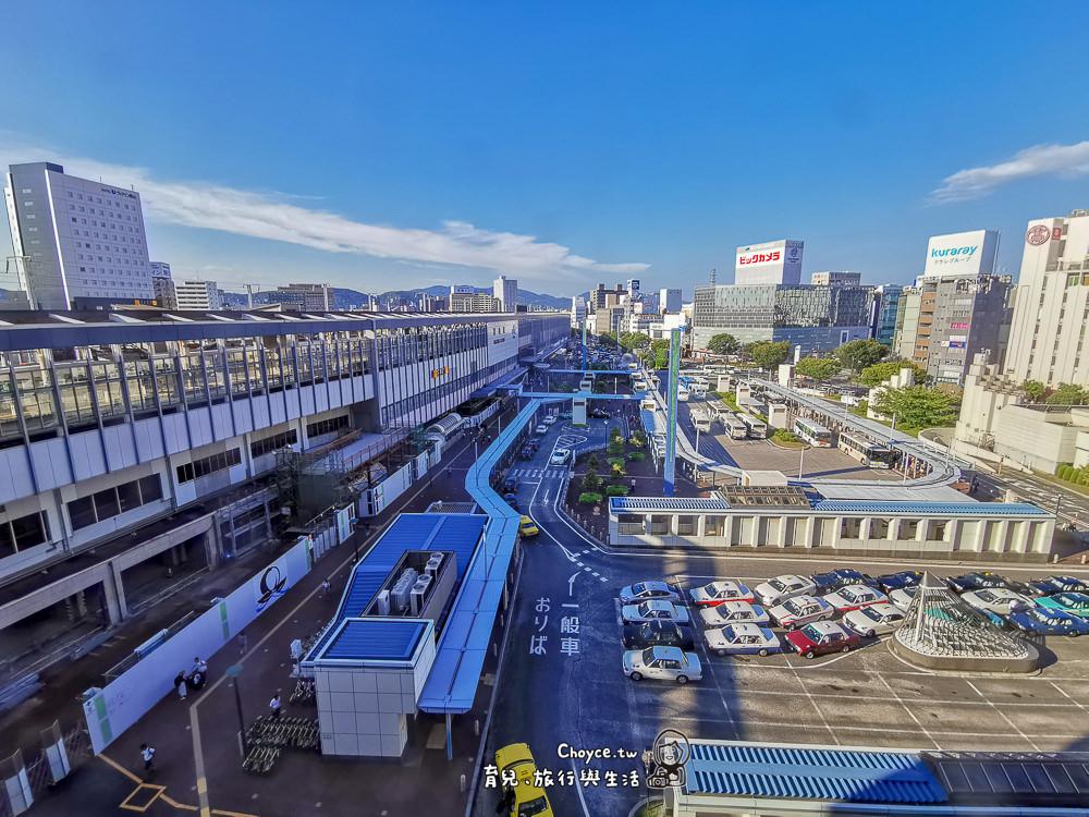 住在岡山車站樓上 逛到深夜兩點超級嗨 Hotel Granvia Okayama唐吉軻德 Aeon Mall 高島屋與Bic Camera包圍