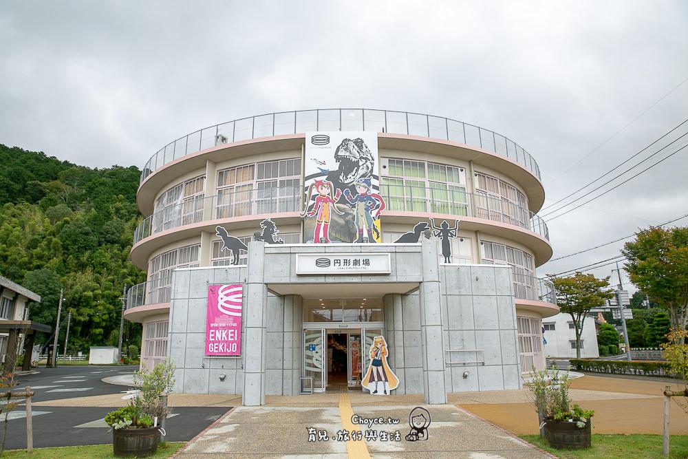 動漫聖地在鳥取 最夯圓形劇場 廢棄小學校變身 日本最大動漫偶展博物館