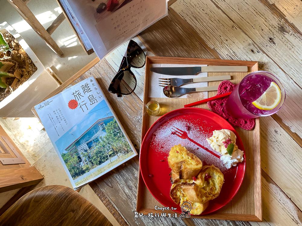 沖繩超人氣網紅名店しまドーナッツCALiN 雜貨咖啡廳 屋我地島 甜甜圈姐妹店