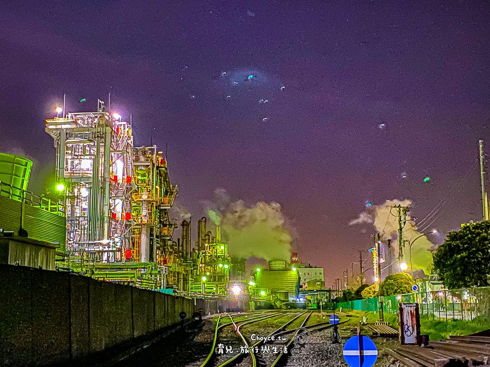 重現星際大戰星球夜景正夯 川崎工場夜景之旅 搭導覽計程專車夜遊川崎 川崎マリエン