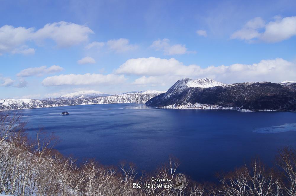 冬天摩周湖
