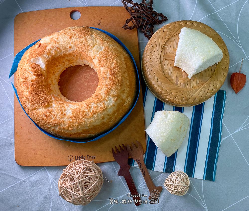 香草天使蛋糕 Angel Cake 大量消耗蛋白最佳配方 烘焙(西點)丙級實作