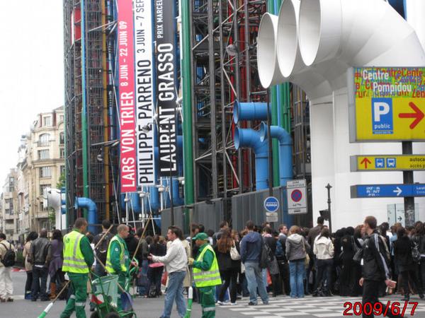 (巴黎)20090607 與美國總統歐巴馬擦身而過