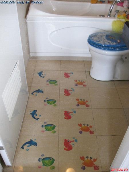 (勸敗)3M防滑貼片-浴室可以安全又美觀