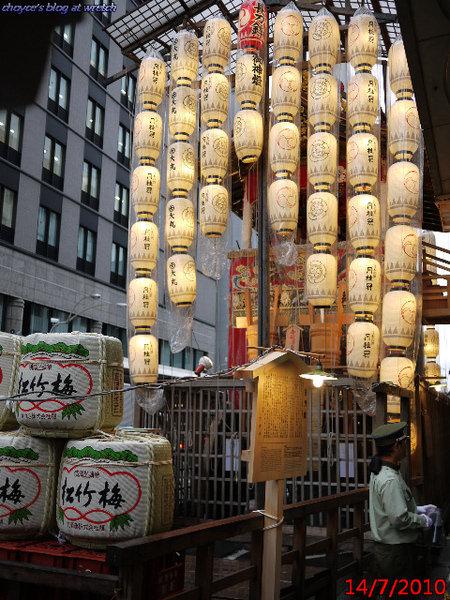 (日本京都)日本三大祭之一 祇園祭之 宵宵宵山 現場直擊 小人也能上神轎