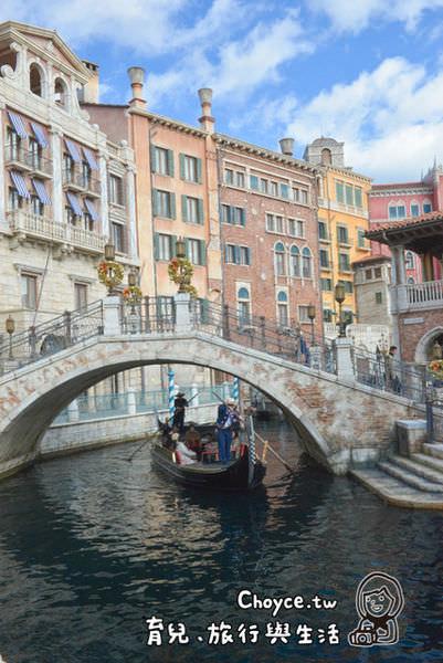 (日本千葉縣) 東京迪士尼海洋樂園 地中海 威尼斯貢多拉遊船 希望願望成真(合掌)