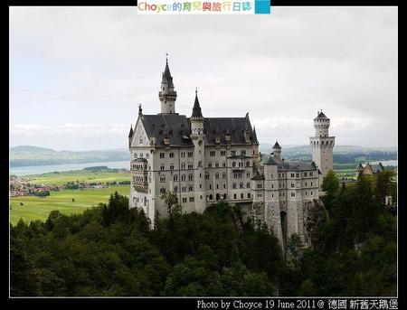 (歐洲) 德國 Fussen 新舊天鵝堡 (迪士尼城堡的原型) (含交通方式解說)(UDN 003)