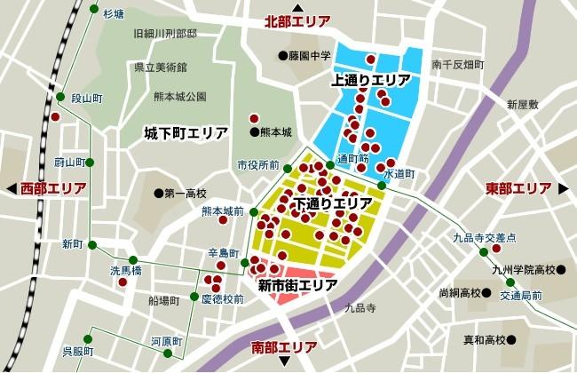 熊本市 マップ