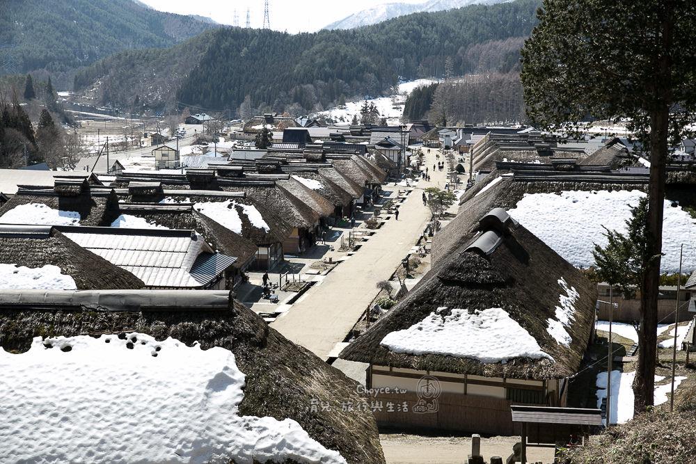 療癒系景點推薦:會津大內宿 日本三大茅草屋頂之一 不賣不租不破壞