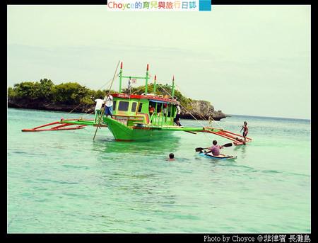 (菲律賓長灘島) 長灘島的孩子 即興水上表演騎馬舞、後空翻