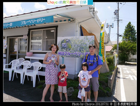 (日本長野縣) 輕井澤 藍莓農園任採吃到飽 @城詰藍莓農園