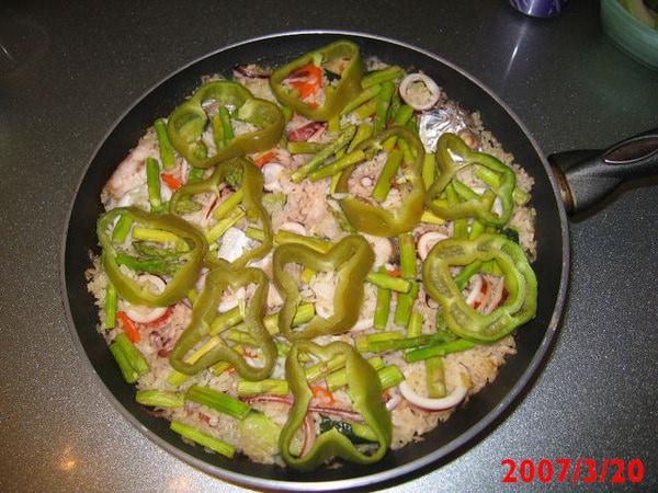 (Choyce廚房)西班牙海鮮飯Paella