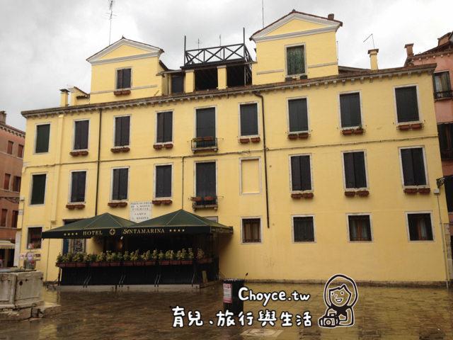 (歐洲) 威尼斯住宿推薦 聖馬可廣場旁10分鐘 Hotel Santa Marina聖塔瑪琳娜飯店 Coop超市在旁邊