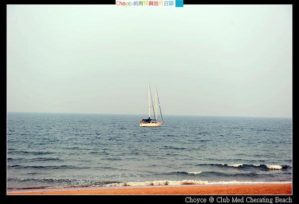 (馬來西亞) 搭遊艇出海 欣賞落日餘霞的感動@馬來西亞珍拉汀灣Club Med Cherating Beach