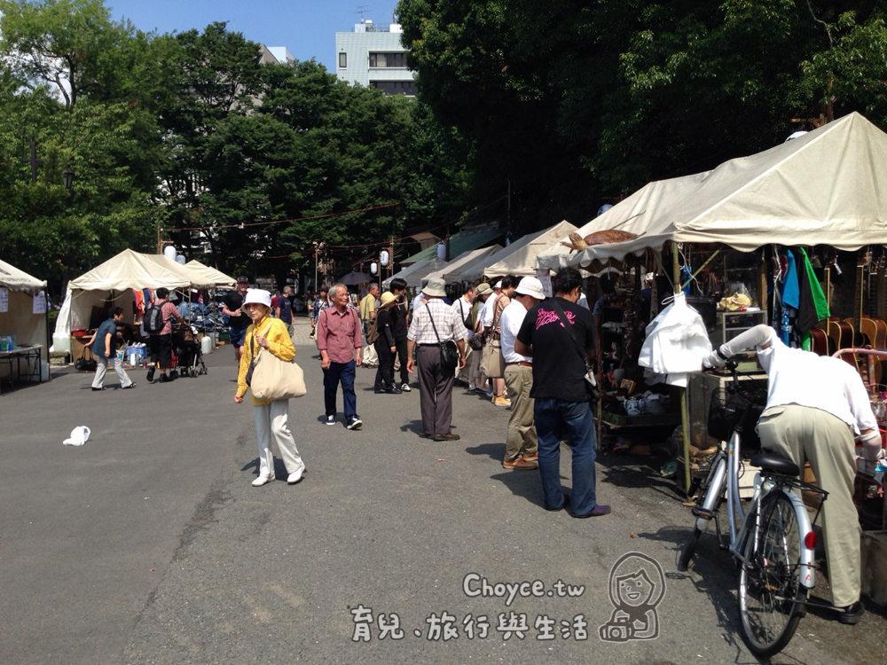 上野恩賜公園跳蚤市場 不忍池夏祭典 第63屆江戶趣味納涼大會
