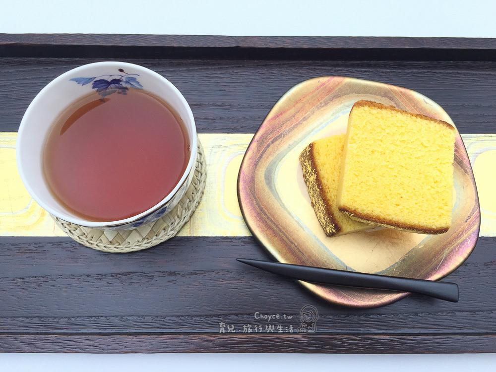 (日本石川縣) 日本僅此一家 夢幻美食 貼滿金箔之金澤烏骨雞蜂蜜蛋糕:烏鶏庵 うけいあん