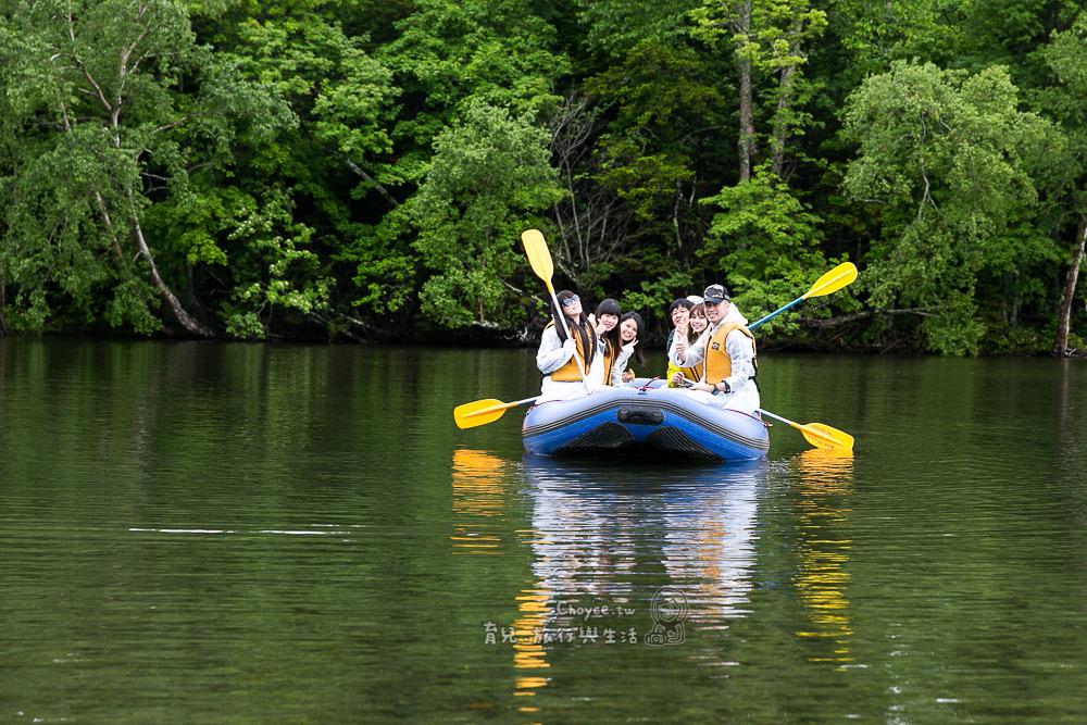 來北海道泛舟正夯 北海道屈斜路湖 Asobiya 遊覧川下り體驗 2小時全程專業嚮導自然環境導覽
