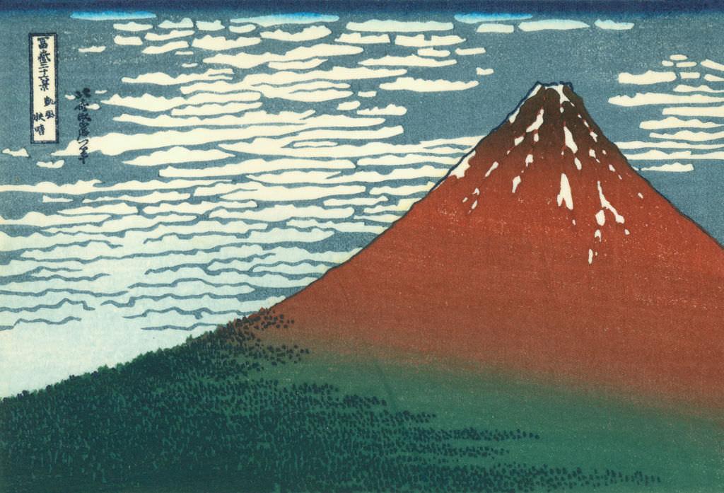 日本浮世繪巨擘 畫狂人葛飾北齋@小布施 北齋館特許攝影 冨嶽三十六景 富士山名景