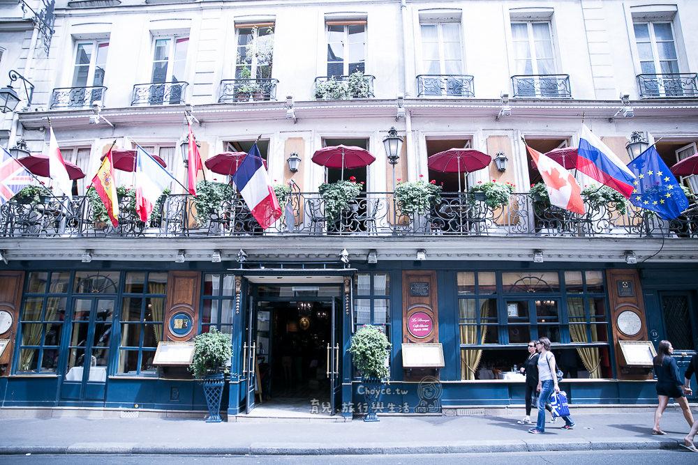 (巴黎Fun暑假) 左岸咖啡館 1686年創建,Le Procope Cafe 巴黎市第一間餐廳,傳統法國料理 燉牛頭肉大推薦
