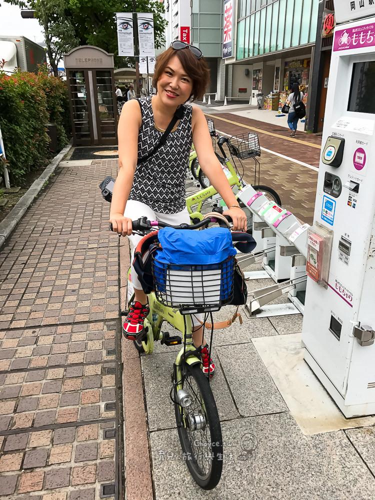 (日本岡山縣) 租腳踏車遊岡山真簡單 岡山市コミュニティサイクル ももちゃり
