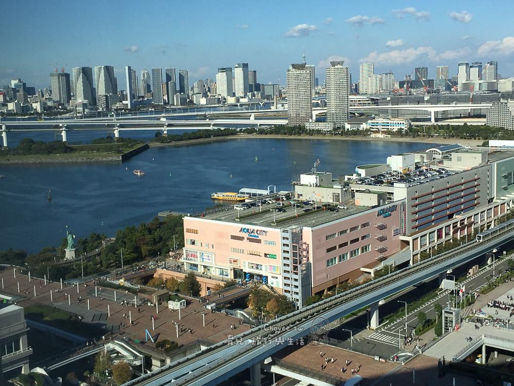 台場水上巴士 從AUQA CITY出發往日之出棧橋,往東京迎向華麗夕陽風光